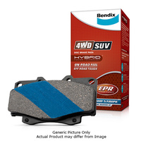 Bendix 4WD Brake Pads 7502A-4WD
