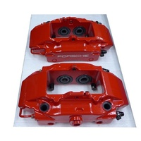 Genuine Brembo Brake Caliper RED