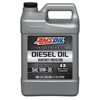 AMSOIL 10W-30 Heavy-Duty Synthetic Diesel Oil 1G