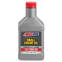 AMSOIL 10W-30 Synthetic Small Engine Oil QT 0.946L ASEQT