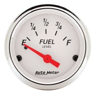 Arctic White Series Fuel Level Gauge - Empty/30 ohms Full (AU1318)
