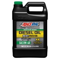 0W-40 Max-Duty Synthetic Diesel Oil 1G