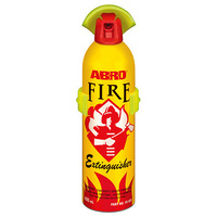 ABRO Fire Extinguisher W/clip Aerosol 400ml **DNR DOESNT HAVE REQUIRED SPEC FE-935