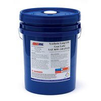 SAE 80W-140 Long Life Synthetic Gear Lube 5G Pail