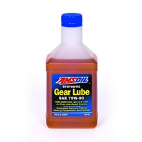 AMSOIL SAE 75W-90 Long Life Synthetic Gear Lube QT