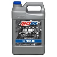 Synthetic Motorcycle Oil 10W-40 Gallon 3.79L