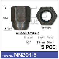 NICE PRODUCTS Wheel Nut NN201-5 NN201-5