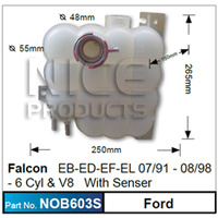 NICE PRODUCTS Overflow Bottle EB-EL With Sensor NOB603S NOB603S