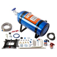 Cheater Single Stage Nitrous Kit -150-250 Horsepower. Suit Square-Bore Carbs.
