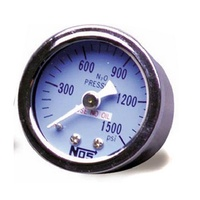 "1-1/2"" Nitrous Pressure Gauge - 0-1600 psi. With -4AN Adapter"