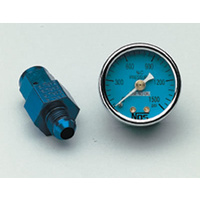 "1-1/2"" Nitrous Pressure Gauge - 0-1600 psi. With -6AN Adapter"