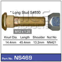 NICE PRODUCTS Stud & Nut NS469 NS469
