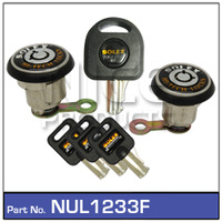 NICE PRODUCTS Anti Theft Locks NUL1233F NUL1233F