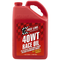 40WT Race Engine Oil 15W/40 - 1 Gallon Bottle (3.785 Litres) (RED10405)