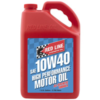10W40 Motor Oil - 1 Gallon Bottle (3.785 Litres) (RED11405)