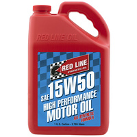 15W50 Motor Oil - 1 Gallon Bottle (3.785 Litres) (RED11505)