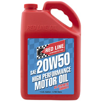20W50 Motor Oil - 1 Gallon Bottle (3.785 Litres) (RED12505)