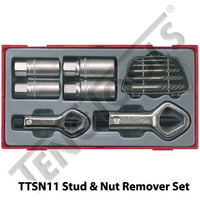 11 Pce Stud and Nut Remover Set (TTSN11)