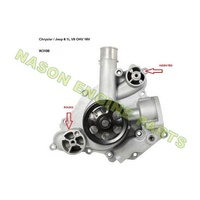Trueflow WATER PUMP JEEP TF8558 crossover W3108
