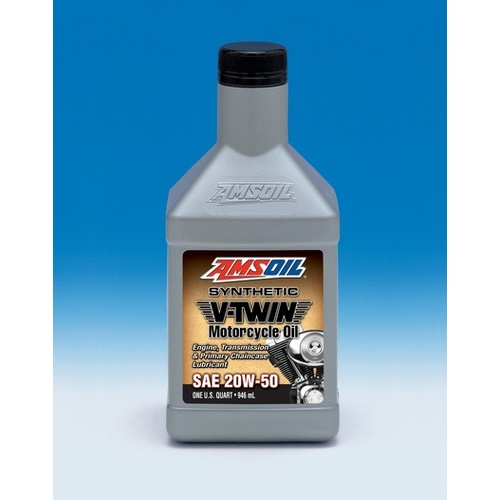 Synthetic High Performance Motorcycle Oil 20W-50 Quart 0.946L
