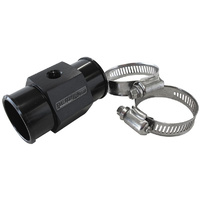 Aeroflow 1-1/2'' 38mm WATER TEMP HOSE ADAPTER w/ 1/8'' NPT GAUGE PORT