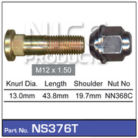NICE PRODUCTS Stud & Nut NS376T NS376T