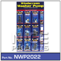 NICE PRODUCTS Merchandiser Washer Pumps NWP2022 NWP2022