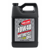 10W40 Motorcycle Oil - 1 Gallon Bottle (3.785 Litres) (RED42405)