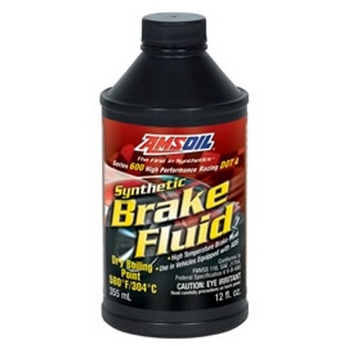 Synthetic Brake Fluid High Performance DOT 4 12oz Bottle